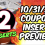 10/31/21 COUPON INSERT PREVIEW – 2 INSERTS!